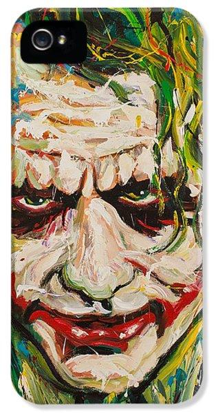 Joker IPhone 5 / 5s Case by Michael Wardle