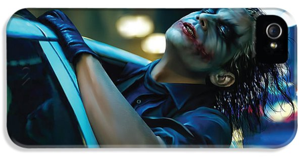 Joker IPhone 5 / 5s Case by Veronika Limonov