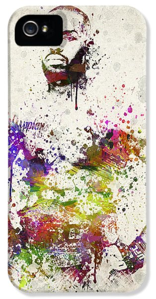 Striking iPhone 5 Cases - Jon Jones iPhone 5 Case by Aged Pixel