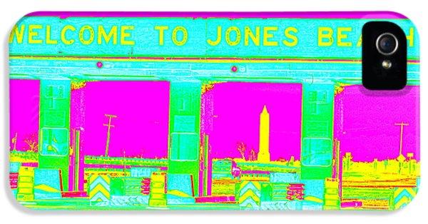 Sonny Corleone iPhone 5 Cases - Jones Beach Pop iPhone 5 Case by Ed Weidman