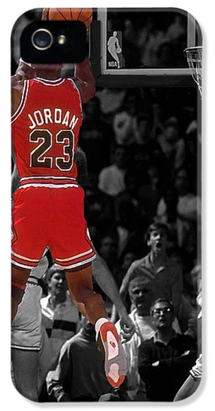 Jordan Buzzer Beater IPhone 5 / 5s Case by Brian Reaves