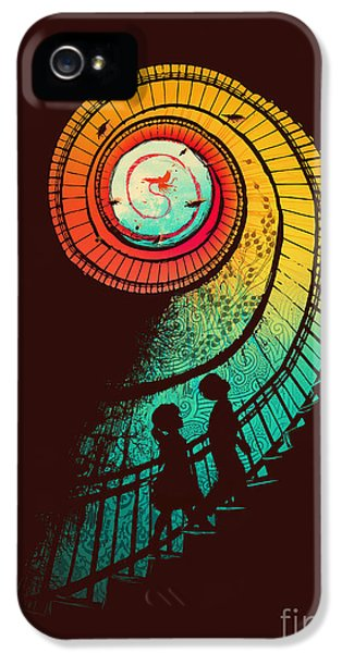 Color iPhone 5 Cases - Journey of a thousand miles iPhone 5 Case by Budi Satria Kwan