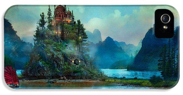 Buildings iPhone 5 Cases - Journeys End iPhone 5 Case by Aimee Stewart