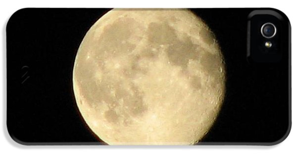 Apollo Print iPhone 5 Cases - June 2013 Full Moon iPhone 5 Case by Sharon Duguay