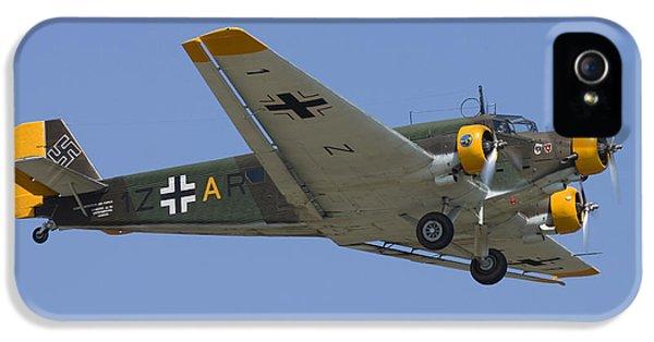 Restoration iPhone 5 Cases - Junkers Ju-52 iPhone 5 Case by Adam Romanowicz