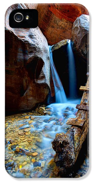 Ladder iPhone 5 Cases - Kanarra iPhone 5 Case by Chad Dutson