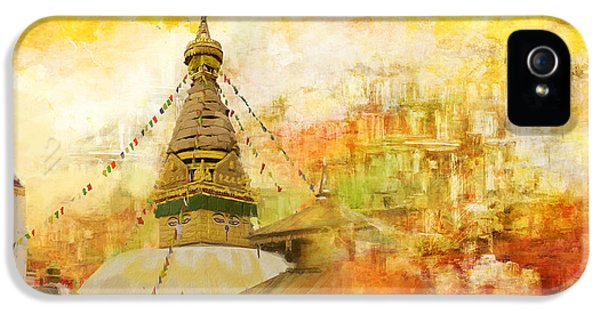 Color Effect iPhone 5 Cases - Kathmandu Valley iPhone 5 Case by Catf