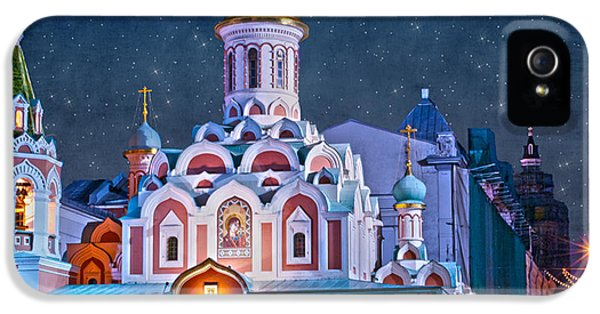 Kazan Cathedral. Red Square. Moscow Russia IPhone 5 / 5s Case by Juli Scalzi