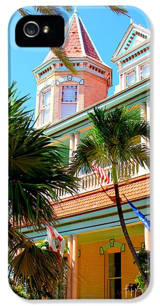 Porch iPhone 5 Cases - Key West iPhone 5 Case by Carey Chen