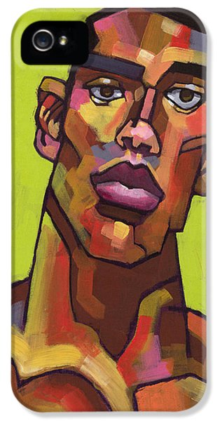 Face iPhone 5 Cases - Killer Joe iPhone 5 Case by Douglas Simonson