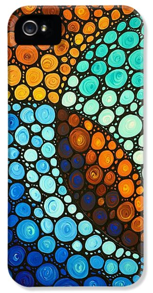 Science Print iPhone 5 Cases - Kindred Spirits iPhone 5 Case by Sharon Cummings