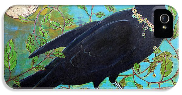 King Crow IPhone 5 / 5s Case by Blenda Studio