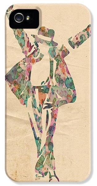 Mj iPhone 5 Cases - King of Pop In Concert no 11 iPhone 5 Case by Florian Rodarte