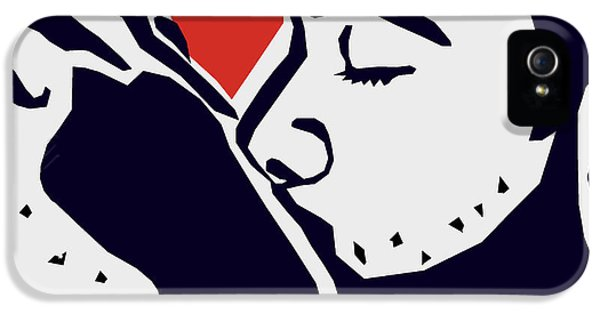 Gay Art iPhone 5 Cases - Kiss 2 iPhone 5 Case by Mark Ashkenazi