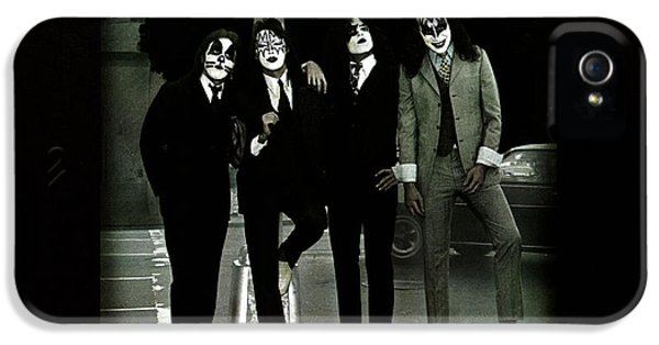 Kiss - Dressed To Kill IPhone 5 / 5s Case by Epic Rights
