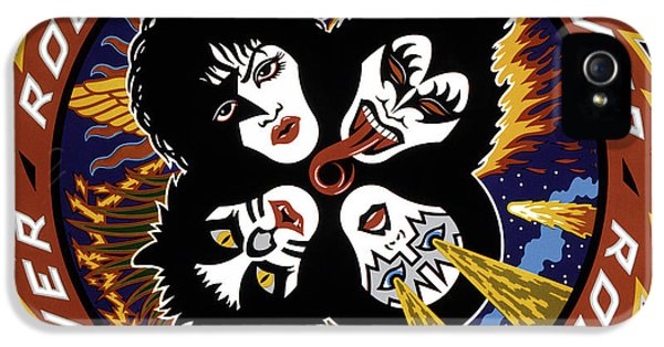 Rock And Roll iPhone 5 Cases - KISS - Rock and Roll Over iPhone 5 Case by Epic Rights