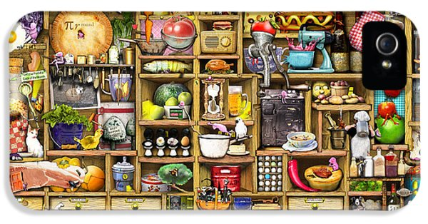 Creativity iPhone 5 Cases - Kitchen Cupboard iPhone 5 Case by Colin Thompson