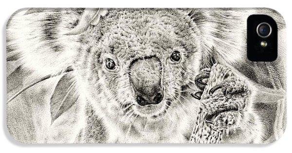 Koala Garage Girl IPhone 5 / 5s Case by Remrov