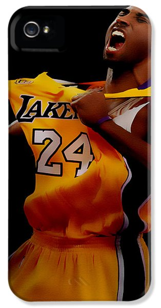 Kobe Bryant Sweet Victory IPhone 5 / 5s Case by Brian Reaves