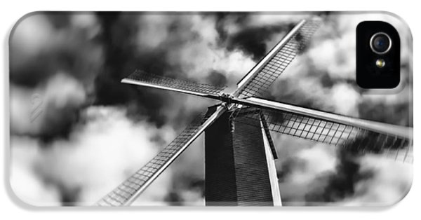 Windmill iPhone 5 Cases - Koelewei Mill iPhone 5 Case by Wim Lanclus