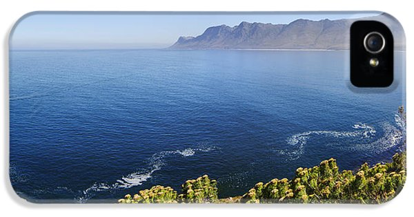 Drive iPhone 5 Cases - Kogelberg area view over ocean iPhone 5 Case by Johan Swanepoel