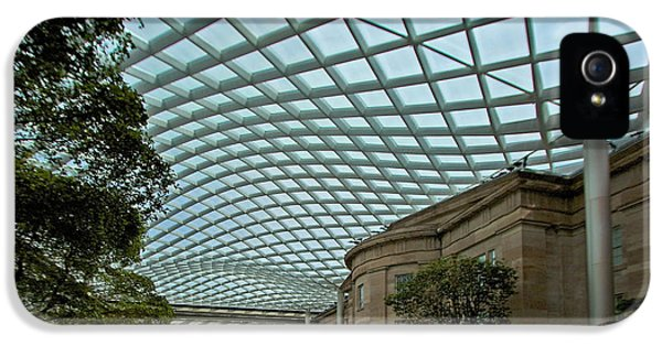 National Portrait Gallery iPhone 5 Cases - Kogod Courtyard #2 iPhone 5 Case by Stuart Litoff