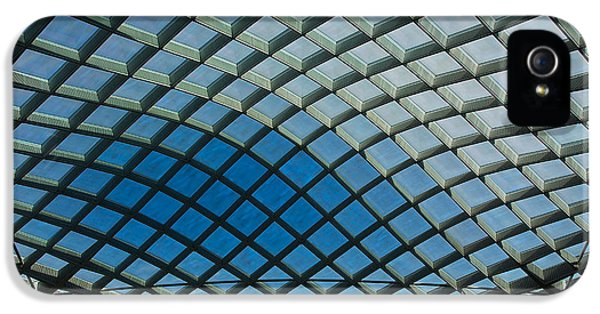 National Portrait Gallery iPhone 5 Cases - Kogod Courtyard Ceiling #2 iPhone 5 Case by Stuart Litoff