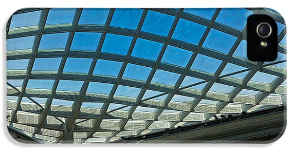 National Portrait Gallery iPhone 5 Cases - Kogod Courtyard Ceiling #3 iPhone 5 Case by Stuart Litoff