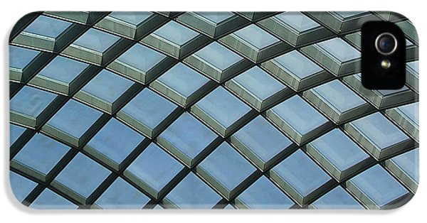 National Portrait Gallery iPhone 5 Cases - Kogod Courtyard Ceiling #5 iPhone 5 Case by Stuart Litoff