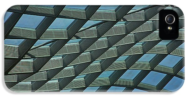 National Portrait Gallery iPhone 5 Cases - Kogod Courtyard Ceiling #6 iPhone 5 Case by Stuart Litoff