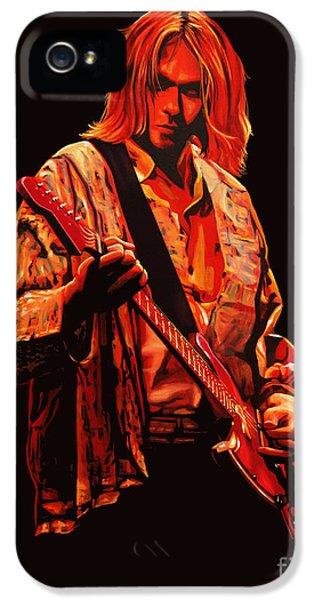 Kurt Cobain iPhone 5 Cases - Kurt Cobain iPhone 5 Case by Paul Meijering