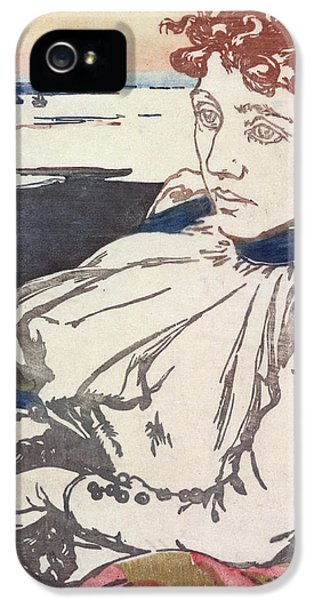 Ill iPhone 5 Cases - La Convalescante Mademoiselle Lepere iPhone 5 Case by August Lepere