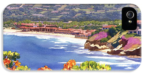 La Jolla Beach And Tennis Club IPhone 5 / 5s Case by Mary Helmreich