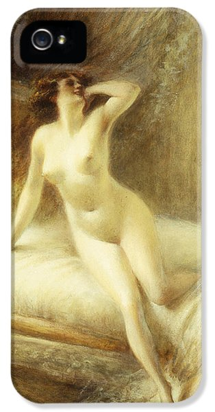 Nudity iPhone 5 Cases - La Reveille iPhone 5 Case by Albert Guillaume