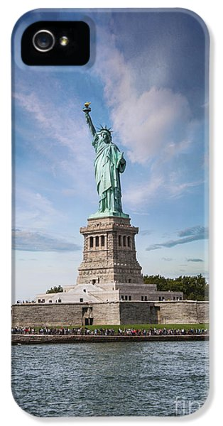 Lady Liberty IPhone 5 / 5s Case by Juli Scalzi