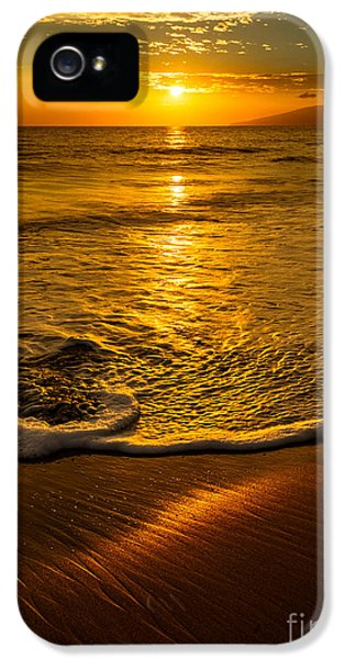 Water iPhone 5 Cases - Lahaina Glow iPhone 5 Case by Jamie Pham