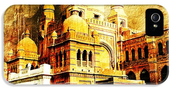 Islamabad iPhone 5 Cases - Lahore Museum iPhone 5 Case by Catf