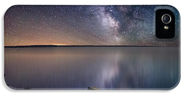 Stars iPhone 5 Cases - Lake Oahe iPhone 5 Case by Aaron J Groen