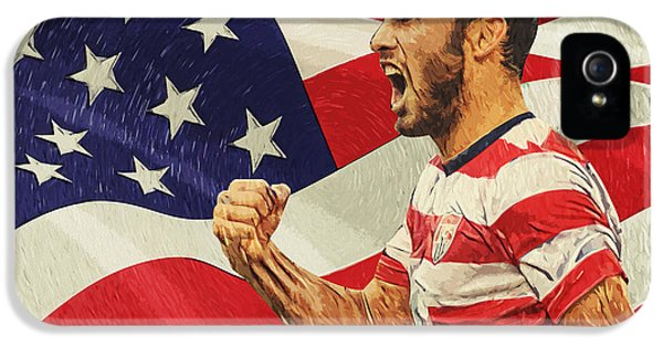 Landon Donovan IPhone 5 / 5s Case by Taylan Soyturk