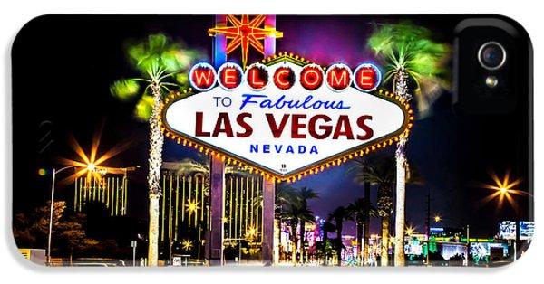 Las Vegas Sign IPhone 5 / 5s Case by Az Jackson
