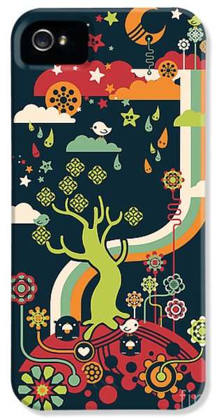 Color iPhone 5 Cases - Late night party iPhone 5 Case by Budi Satria Kwan