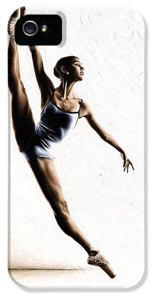 Dance iPhone 5 Cases - Leap of Faith iPhone 5 Case by Richard Young