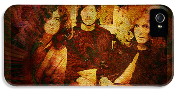 Led Zeppelin - Kashmir IPhone 5 / 5s Case by Absinthe Art By Michelle LeAnn Scott