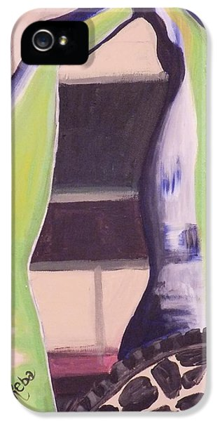 Extremity iPhone 5 Cases - Legs 2 iPhone 5 Case by Reba Baptist