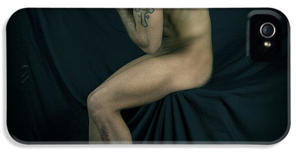 Erotic Male iPhone 5 Cases - Repenting iPhone 5 Case by Mark Ashkenazi