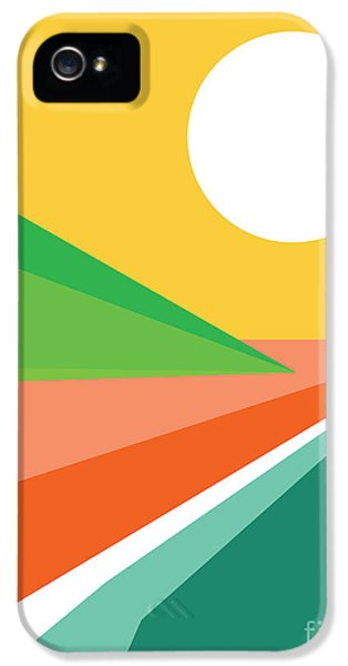 Color iPhone 5 Cases - Lets all go to the beach iPhone 5 Case by Budi Satria Kwan