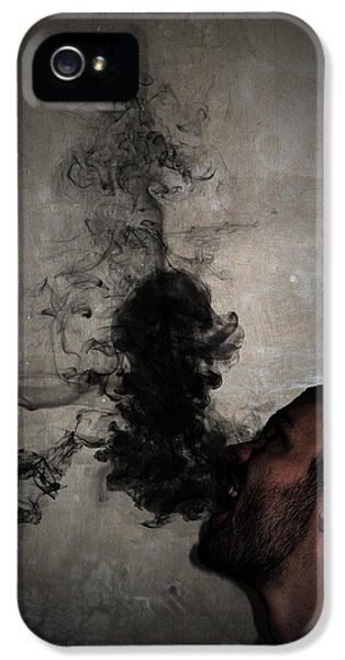 Insanity iPhone 5 Cases - Letting the darkness out iPhone 5 Case by Nicklas Gustafsson