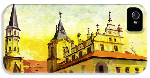 Color Effect iPhone 5 Cases - Levoca Spissky Hrad and the Associated Cultural Monuments iPhone 5 Case by Catf