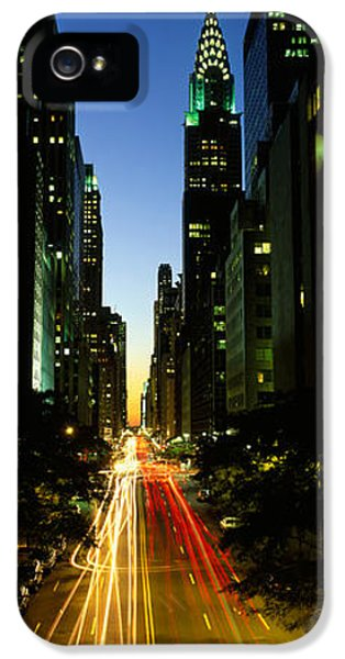 Aves iPhone 5 Cases - Lexington Avenue, Cityscape, Nyc, New iPhone 5 Case by Panoramic Images