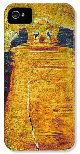 National Museum Of America History iPhone 5 Cases - Liberty Bell 2.1 iPhone 5 Case by Stephen Stookey